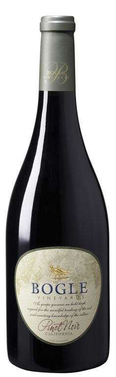 bogle pinot noir - not too bad for low priced pinot
