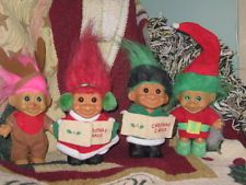 CHRISTMAS COLLECTABLE TROLL DOLLS