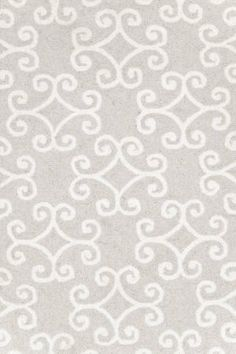 This #silver #gray #rug from Dash & Albert would be gorgeous in a feminine #nursery.