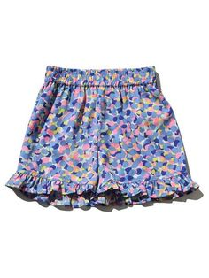 Frill hem mermaid shorts Kids Shorts, Summer Shorts, Pastel Colors, Colours, Mermaid Shorts, Skirts For Kids, Pretty Pastel, Our Girl, Summer Girls