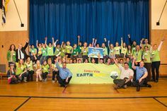 Campus View celebrates their for win! Recycling, Basketball Court, Education, Celebrities, Celebs, Repurpose, Foreign Celebrities, Educational Illustrations, Learning
