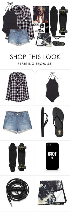 """Take me to the pool"" by blueelephant115 ❤ liked on Polyvore featuring Rails, Marysia Swim, J Brand, Vans, Retrò, Urbanears and Balmain"