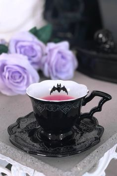 Goth Home Decor, Velvet Glove, Horror Decor, Dark House, After Midnight, Things To Buy, Stuff To Buy, Gothic House, My Cup Of Tea