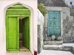 pretty doors, look at that simplicity.