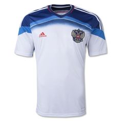 According to an adidas press release: The innovative feature of the uniform is its incredible lightness. The net weight of the uniform set is only 320 grams, which is 40% lighter than the previous one in 2012 (510 grams). The other special features are the unique design, inspired by the achievements of Russia in exploring space and latest technologies that have been used in the kit production.