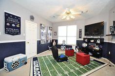 Dallas Cowboys Gameroom.