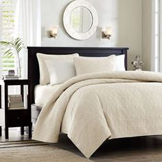 Madison Park Mansfield 3-pc. Quilted Coverlet Set - Full/Queen $89.99