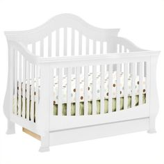 million dollar baby classic ashbury 4in1 convertible crib with