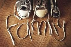i LOVE this! Sooo cute! Can't wait to have 5 other pairs of shoes lined up behind mine and my husbands :)