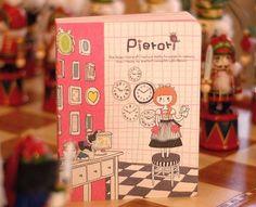 Cute Pierori 2009 Calendar Korean Journal Diary Planner. $30.00, via Etsy.