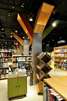 Tanum Karl Johan bookstore flagship by JVA, Oslo » Retail Design Blog