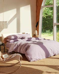 Brooklinen Lavendar Bedspread Simple
