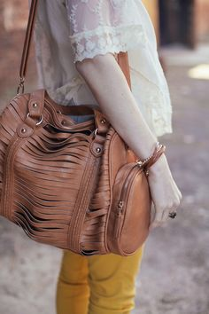 Weekender Leather Handbags Fashion Jewelry Trendy Totes Golden Stella