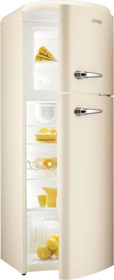 Retro-inspired Gorenje fridge. Perfect for my dream home. #Gorenje