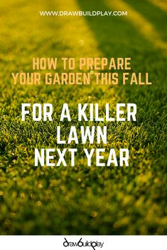 Prepare your fall garden ideas this autumn starting with creating a healthy lawn. Learn how to get greener grass by applying the right fertilizers and