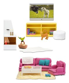 Look what I found on #zulily! Three-Piece Living Room Play Set by Lundby #zulilyfinds