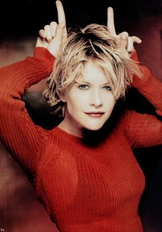 Meg Ryan hair- I may or may not be totally obsessed...