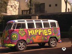 -Le combi du hippie : le van Volkswagen <3
