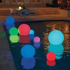 Above Ground Pool, In Ground Pools, Led Neon, Led Color, Deck Lighting, Lighting Ideas, Event Lighting, Landscape Lighting, Festa Party