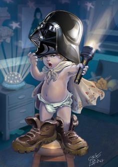 Baby Vader.  OMG. vy crisdelara04