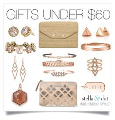 """""""Half our line is under $60!"""" by cathy-bartlett on Polyvore featuring Stella & Dot"""
