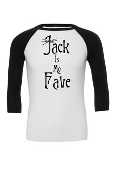 Jack Skellington is my fave Raglan