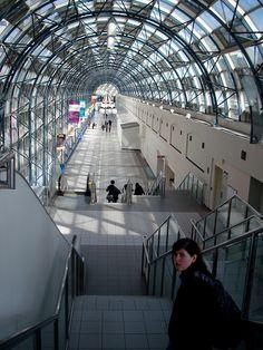 Entrance to Union St. Station, Toronto, Canada
