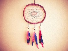 Dream Catcher  Hipster Joy  With HandPainted by perpetumobile, $18.00