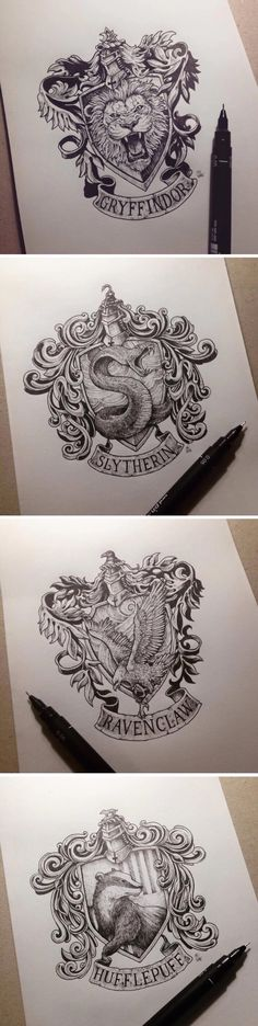 AMAZING!! I can't believe someone actually drew those!!!