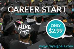 Looking for a job but have no experience? #CareerStart is the new program for you. Find a #Job today! You can discover an easy and proven way to Boost Your Career and help guarantee Your future Jobs and Goals. https://royalgoals.com/