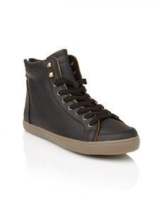 reputable site cf64b 25cc6 PERFORATED METAL ZIP SNEAKER shoes