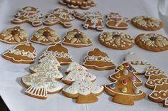 mézeskalács recept trükkök :) Winter Christmas, Christmas Crafts, Xmas, Holiday, Gingerbread Cookies, Christmas Cookies, Food Design, Biscuits, Cake Decorating