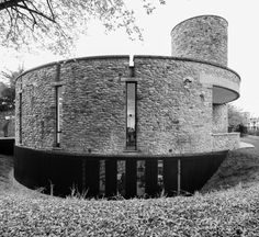 Luigi Caccia Dominioni, Marco Ghilotti, Giacomo Albo · Extension of Ezio Vanoni Library, Morbegno, Italy 1965