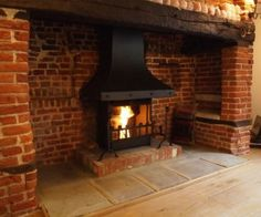 Inglenook Fireplace Open Fireplace Brick Fireplaces Open Fires Cosy Stove & The 75 best Cosy ideas for new fireplace images on Pinterest in 2018 ...