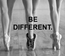 Who's scared to be different? I know I'm not!✌