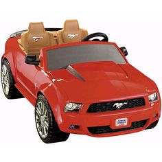 "Power Wheels Fisher-Price Ford Mustang - Power Wheels - Toys ""R"" Us"