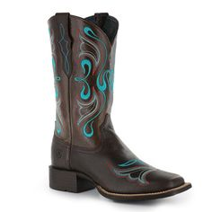 Ariat Women's Whimsy Broad Square Toe Western Boots