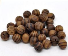 Wooden Bead Custom Bracelet - 8 mm