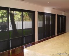 Sheer roller blinds in Netherby home by Rainsfords Adelaide  http://rainsfords.com.au/index.php/roller-blinds/#