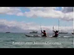 """Sorrento Sea Kayak Day Tour. Sorrento to Point Nepean National Park sea kayak day tour. See boat houses, historical houses, beautiful beaches, dolphins, views of the """"Heads"""" and Queenscliff. Have a look around the former Quarantine station at the National park."""