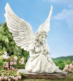 http://www.collectionsetc.com/Product/thoughtful-angel-garden-figurine.aspx/_/N-dnnsmz