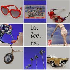 Lana Del Rey's 'Born To Die' mood board  #LDR
