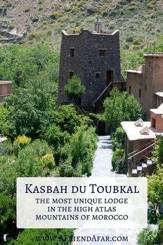 Kasbah du Toubkal, Morocco - www.AFriendAfar.com