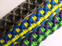 Paracord Bracelet KBK Bar/Rope Bracelet. $10.00, via Etsy.