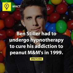Ben Stiller is a nut! 8 Facts, Wtf Fun Facts, True Facts, Funny Facts, Random Facts, Random Stuff, Crazy Facts, The More You Know, Good To Know
