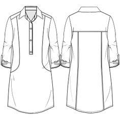 Escoge entre una gran variedad de moldes de ropa y patrones ropa bebes Chemise 7054 DAMA Tallas Grandes