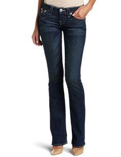 True Religion Women's Becky Traditional Rise Boot Cut Jean #denim #jeans #truereligion