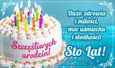 Kartki urodzinowe. Dużo zdrowia i miłości – torcik dla Ciebie #urodziny #kartki #urodzinowe #życzenia #stolat #100lat #imieniny #prezenty #kwiaty #polska #poland #happybirthday #birthday #wszystkiego #najlepszego Happy Bird Day, Cute Couple Cartoon, Birthday Quotes For Him, Happy Birthday Friend, Impreza, Birthday Cake, Holiday, Desserts, Gifts