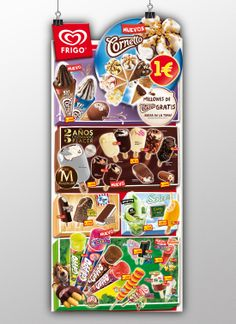 Cartel Impulso Frigo 2014 Journey Mapping, Magnum, Marketing Plan, Nostalgia, Ice Cream, Packaging, Branding, Activities, How To Plan