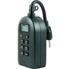 Ge 26898 Mytouchsmart(Tm) Dual Digital Outdoor Timer